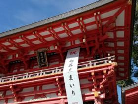 生田神社七五三祈祷