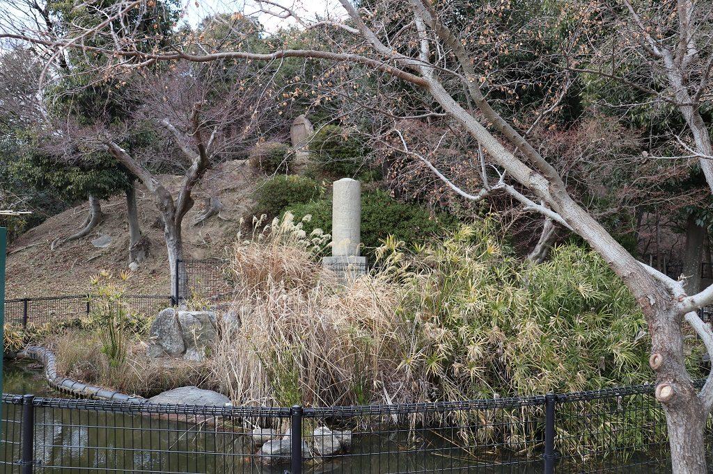 金星台の石碑