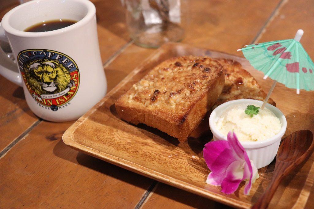 マカマカダミアバタートースト