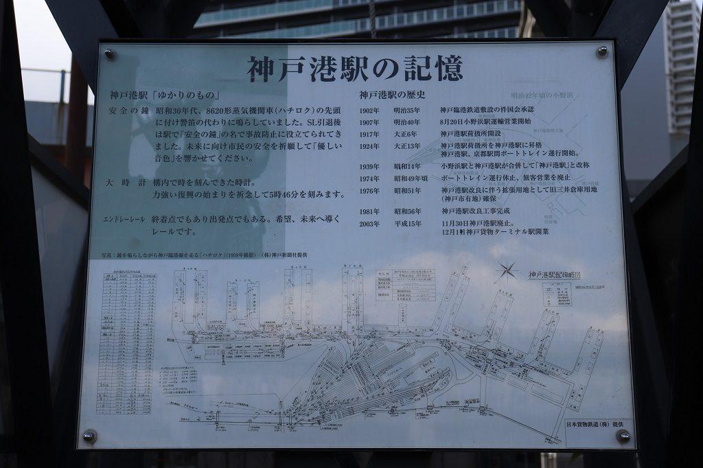 神戸港駅の記憶