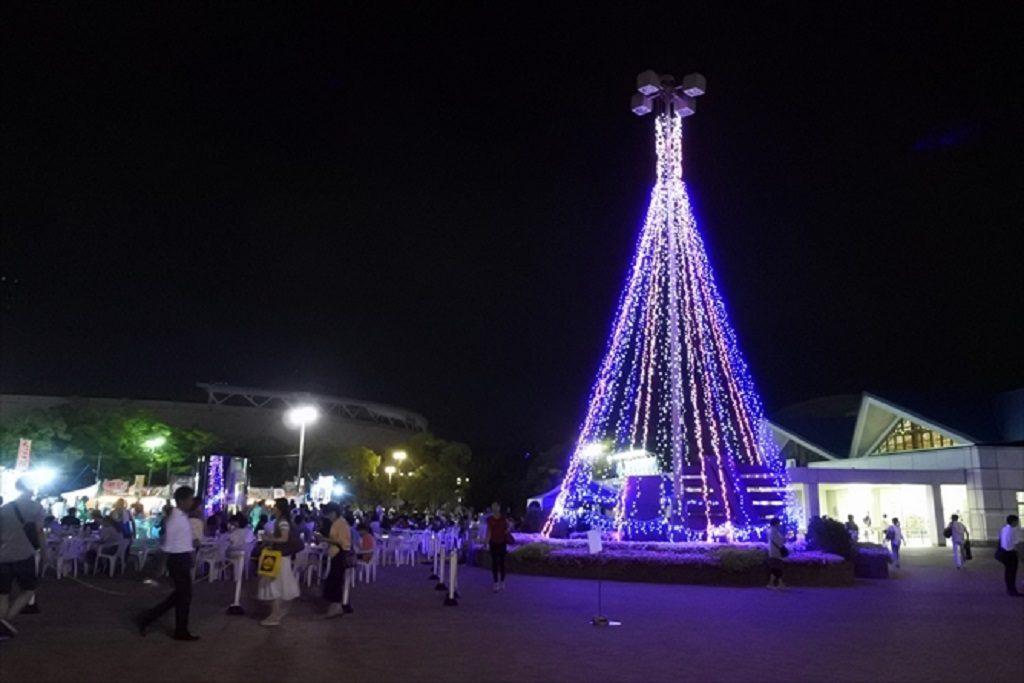 神戸総合運動公園『パークDEビア~星空のビアガーデン』開催