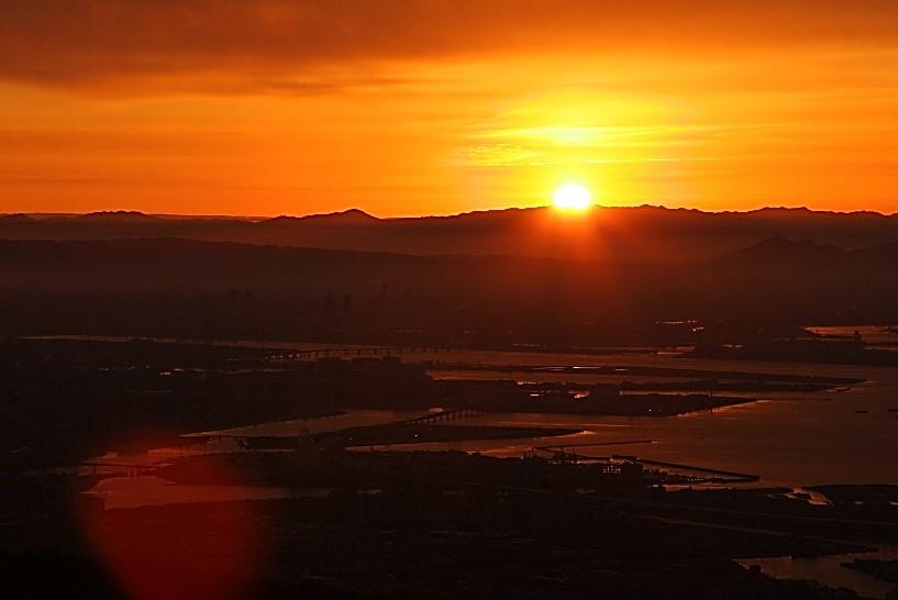 2019年初日の出を六甲山で見よう1月1日は早朝運行