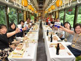 「ビール片手に三田へGO!」H30様子