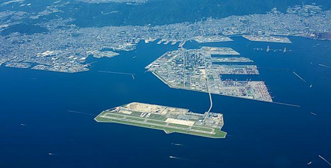 神戸空港航空写真、神戸トータルプレス