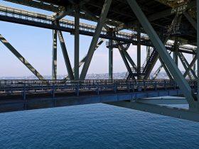 明石海峡大橋管理通路