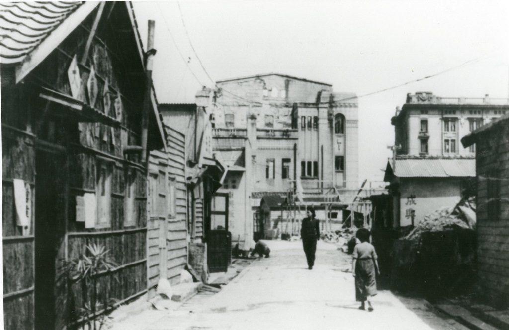 戦後間もない南京町