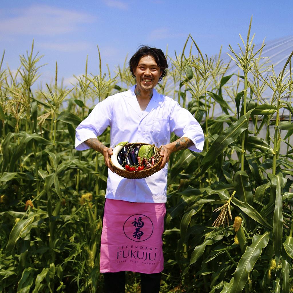 神戸市西区の畑にて